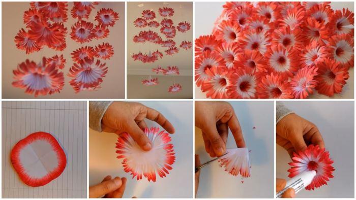 Цветы своими руками в 1 классе 208
