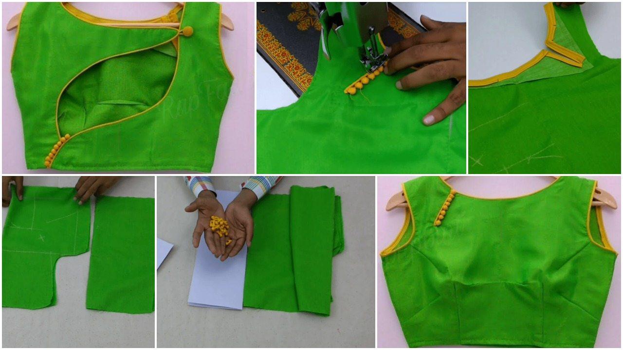 Fashion Designing Blouse Cutting And Stitching