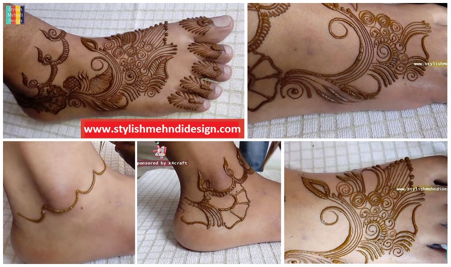 Latest Feet Henna   Simple And Easy Mehndi Design For Feet   ArtsyCraftsyDad