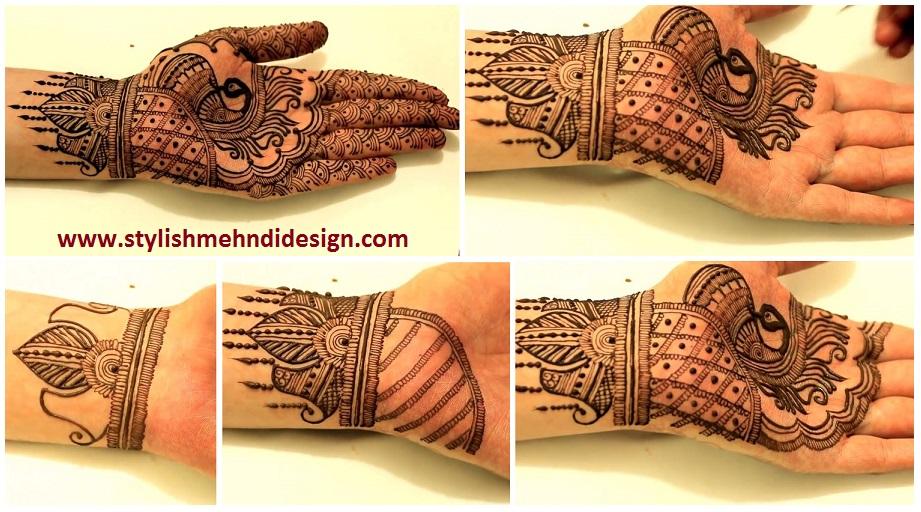 Simple Wrist Mehndi : Simple wrist henna mehndi design for hand artsycraftsydad