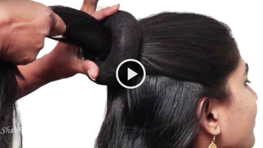 2 Easy Hairstyle For Long Hair 2018 Video Artsycraftsydad