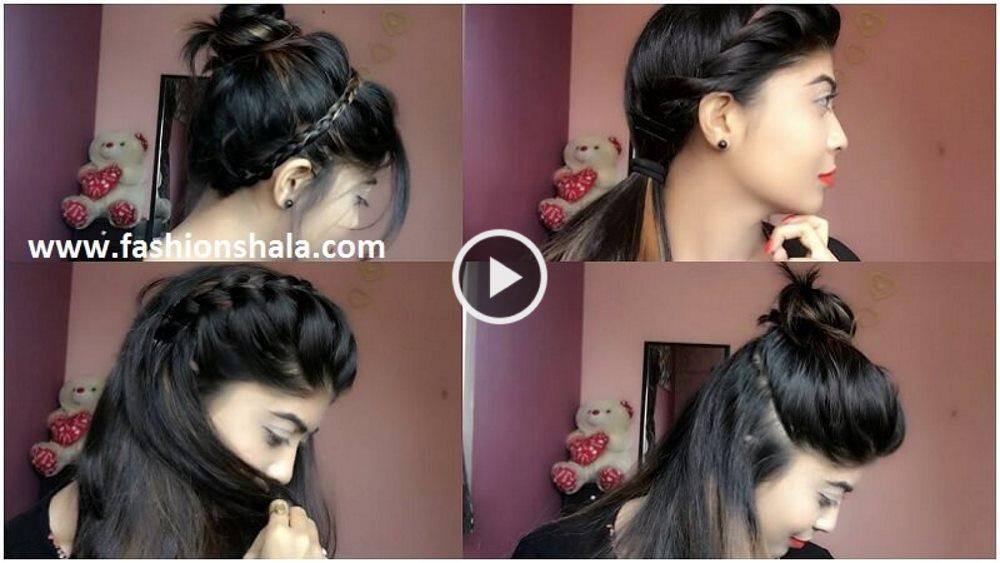 4 Easy Cute Summer Hairstyles Artsycraftsydad