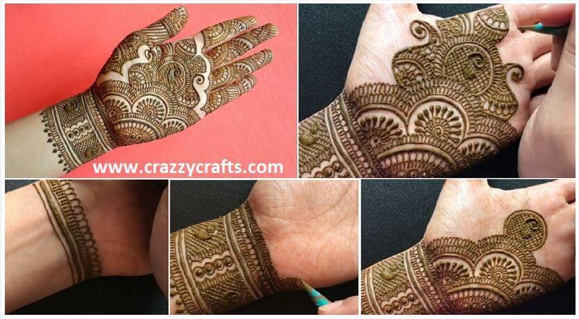 Rajasthani Bridal Mehndi Designs : Traditional rajasthani bridal henna mehndi design artsycraftsydad