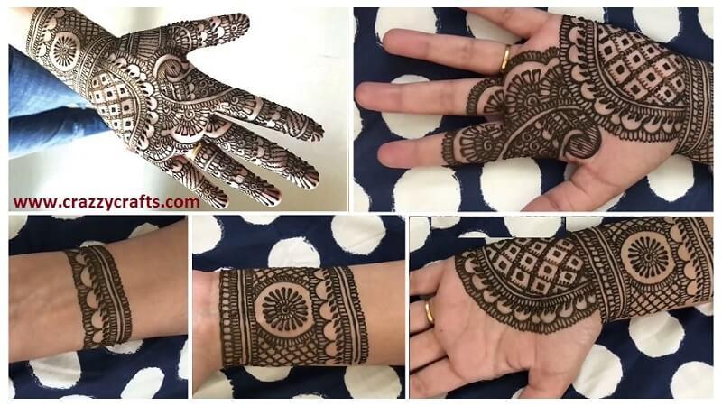 Mehndi Designs Simple And Easy Step By Step : Bridal mehndi design archives artsycraftsydad