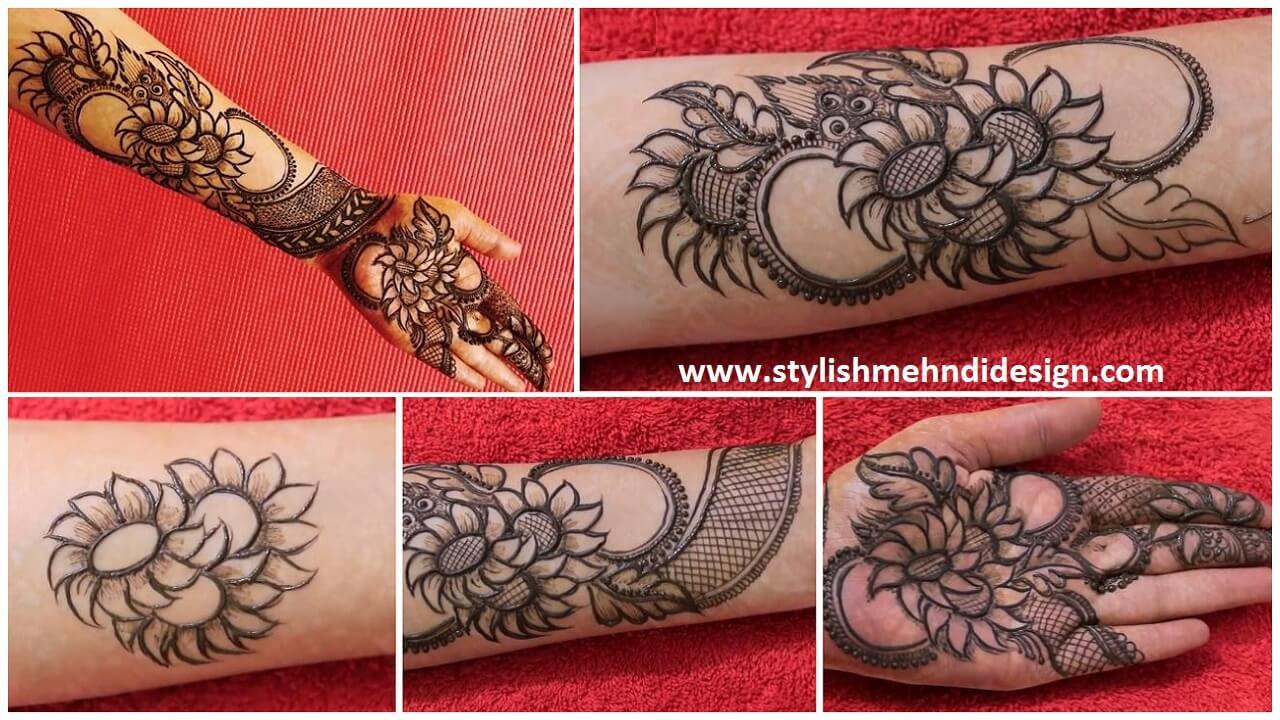Mehndi Designs Tutorial Pdf : Easy dulhan bridal mehndi design step by tutorial