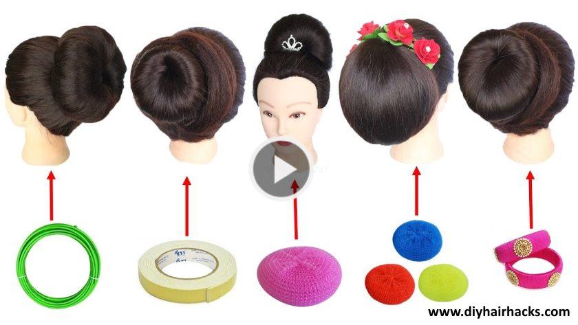 5 Easy Juda Hairstyle With Trick Artsycraftsydad