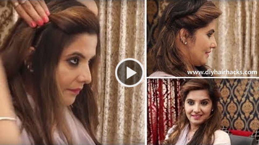 Latest Simple Self Hair Style For Ladies Ladies Hair Style Tutorials 2017 Artsycraftsydad