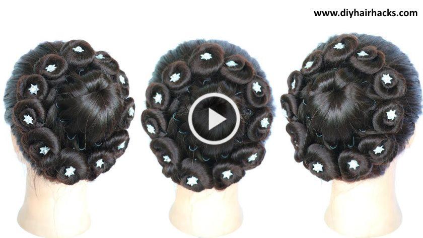 New Beautiful Juda Hairstyle For Wedding Artsycraftsydad