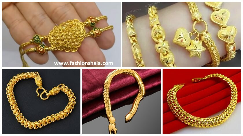 Gold Chain Model Gold Bracelet Latest Models Artsycraftsydad