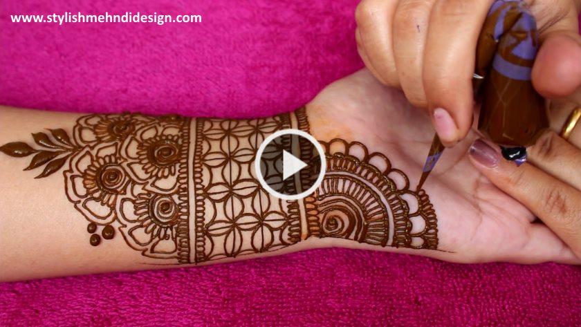Full Hand Simple And Easy Mehndi Design Artsycraftsydad